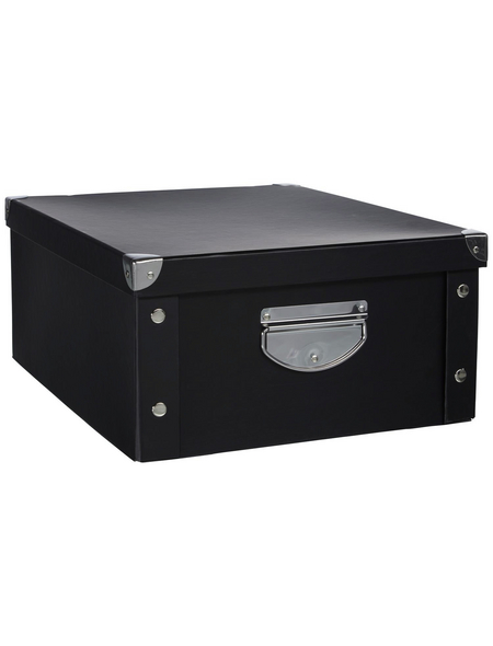 ZELLER Aufbewahrungsbox, BxHxL: 33 x 17 x 40 cm, Pappe