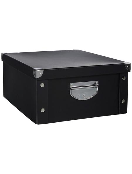 ZELLER Aufbewahrungsbox, BxLxH: 33 x 40  x 17 cm, Pappe