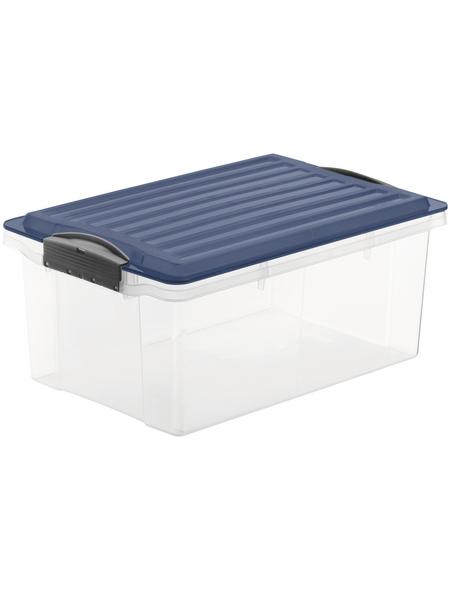 Rotho Aufbewahrungsbox »Compact«, BxHxL: 27,5 x 18 x 39,5 cm, Kunststoff