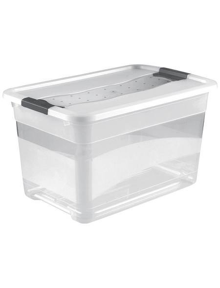 KEEEPER Aufbewahrungsbox »Cornelia«, BxHxL: 39,5 x 34 x 59,5 cm, Kunststoff