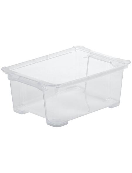 Rotho Aufbewahrungsbox »Evo Easy«, BxHxL: 27,9 x 15,8 x 38,7 cm, Kunststoff
