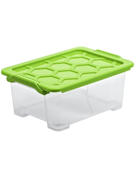 Rotho Aufbewahrungsbox »Evo Safe«, BxHxL: 28,3 x 16 x 39,3 cm, Kunststoff