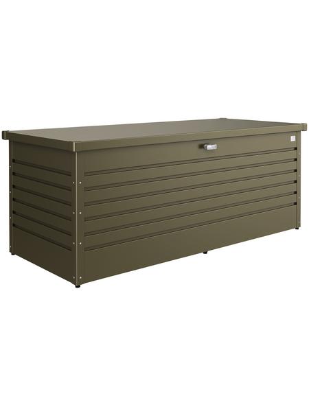 BIOHORT Aufbewahrungsbox »FreizeitBox«, B x H: 181 x 71 cm, Stahl