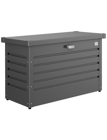 BIOHORT Aufbewahrungsbox »FreizeitBox«, BxHxT: 101 x 61 x 46 cm, dunkelgrau-metallic