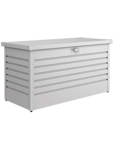 BIOHORT Aufbewahrungsbox »FreizeitBox«, BxHxT: 134 x 71 x 62 cm, silber-metallic