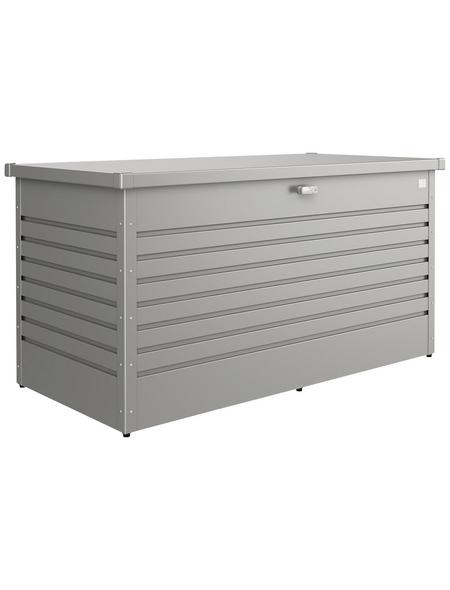 BIOHORT Aufbewahrungsbox »FreizeitBox«, BxHxT: 159 x 83 x 79 cm, quarzgrau-metallic