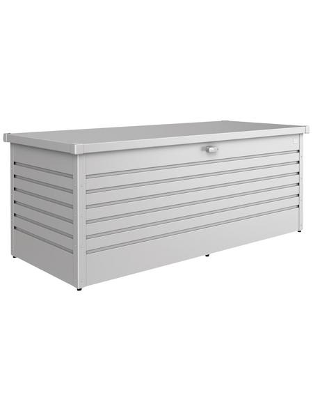 BIOHORT Aufbewahrungsbox »FreizeitBox«, BxHxT: 181 x 71 x 79 cm, silber-metallic