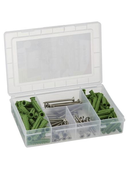 FISCHER Aufbewahrungsbox »Greenline«, BxHxL: 12 x 4 x 18 cm, Kunststoff