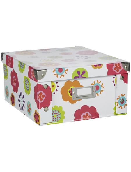 ZELLER Aufbewahrungsbox »Kids«, BxHxL: 26 x 14 x 31 cm, Pappe