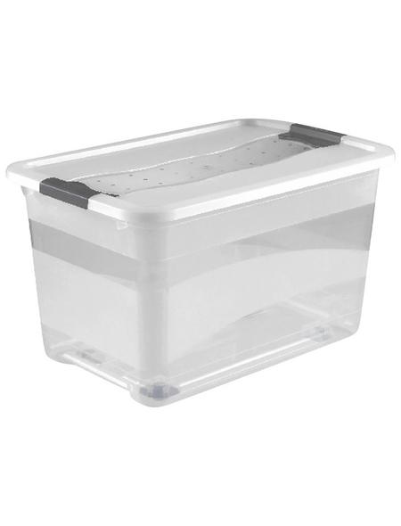 KEEEPER Aufbewahrungsbox »Konrad«, BxHxL: 39,5 x 35 x 59,5 cm, Kunststoff