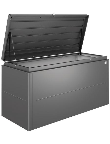 BIOHORT Aufbewahrungsbox »Loungebox«, BxHxT: 160 x 83,5 x 70 cm, dunkelgrau