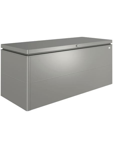 BIOHORT Aufbewahrungsbox »LoungeBox«, BxHxT: 200 x 88,5 x 84 cm, quarzgrau-metallic