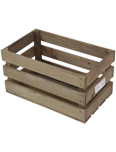 FLORAWORLD Aufbewahrungskiste, BxHxL: 50 x 26,5 x 30 cm, Holz