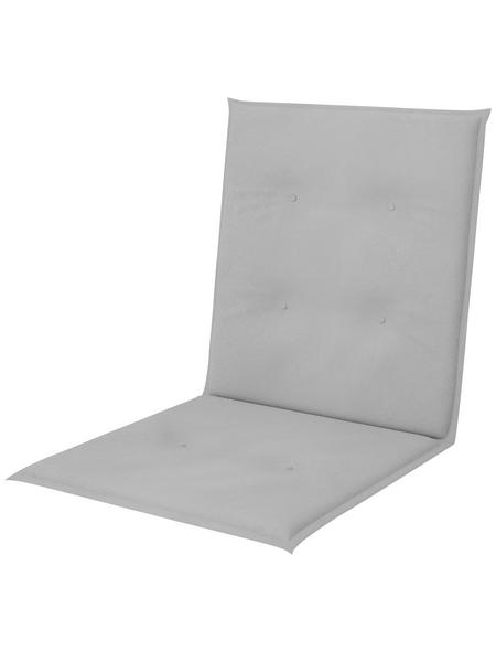 CASAYA Auflage, Koroma Niederlehner, ca. 100x48x4 cm hellgrau