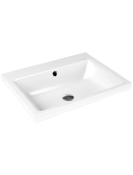 Waschbecken 60 Cm Eckig.Aufsatz Waschbecken Puro Breite 60 Cm Eckig