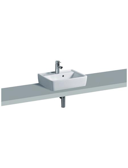 KERAMAG Aufsatz-Waschbecken »Renova Plan«, Breite: 50 cm, eckig