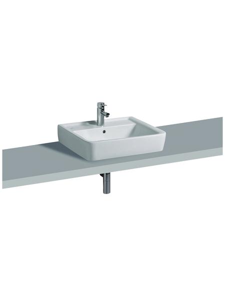 GEBERIT Aufsatz-Waschbecken »Renova Plan«, Breite: 60 cm, eckig