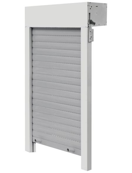 SCHELLENBERG Aufsatzrollladen »SB«, geeignet für Fenster BxH: 100 x103,5 cm, weiß/grau