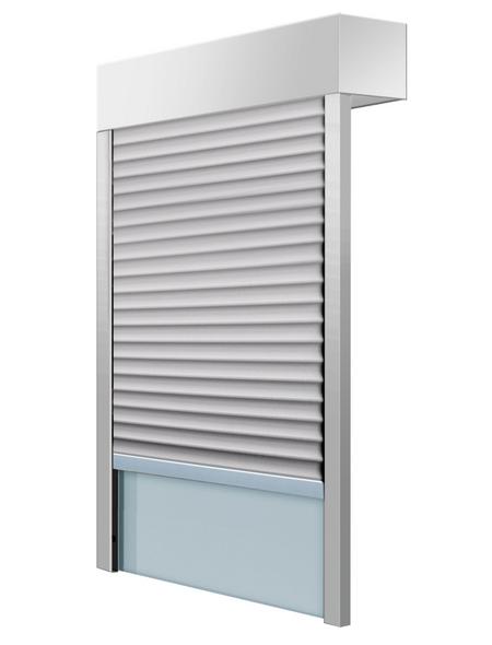 SCHELLENBERG Aufsatzrollladen »SB«, geeignet für Fenster BxH: 80 x83,5 cm, weiß/grau