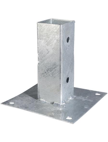 GAH ALBERTS Aufschraubhülse, Rohstahl, BxL: 150 x 150 mm