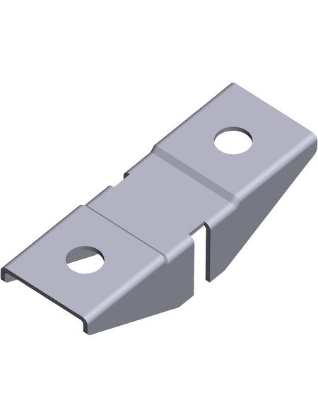 ELEMENT SYSTEM Aufsteckhalter, Stahl, silberfarben