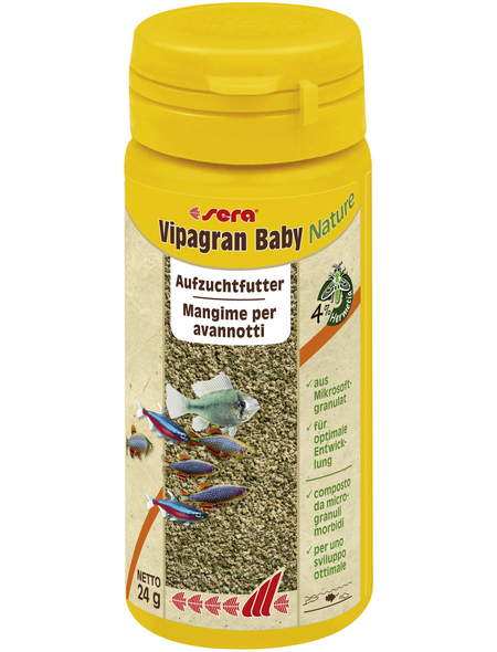 sera Aufzuchtfutter »Vipagran Baby Nature«, Aqua, 50 ml (24g)