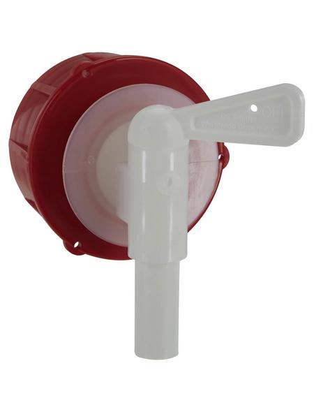 FLORAWORLD Auslaufhahn »Comfort«, Kunststoff, rot