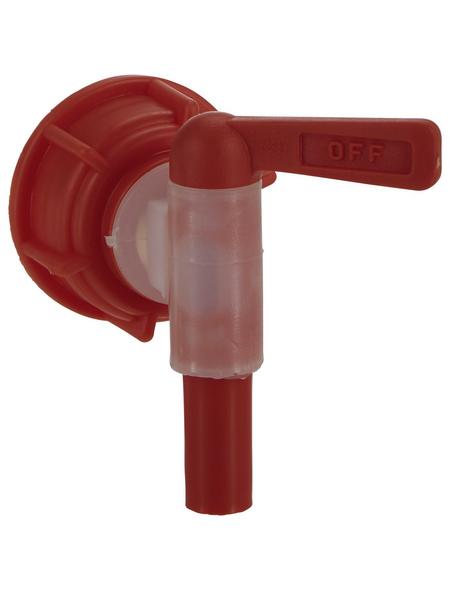 FLORAWORLD Auslaufhahn, Kunststoff, rot