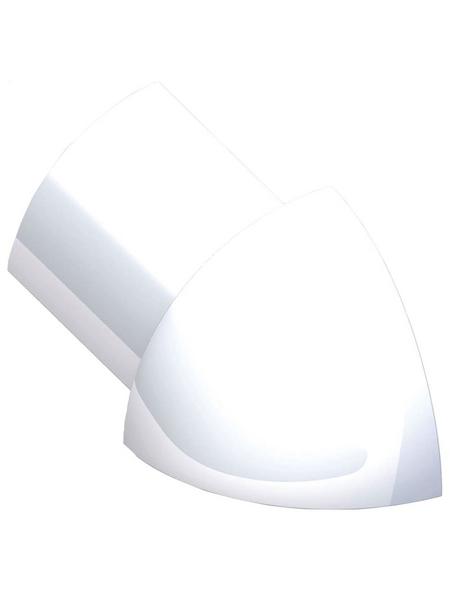 alfer® aluminium Außenecke, aus Aluminium, für Fliesenmaß 10 mm