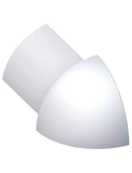 alfer® aluminium Außenecke, aus Aluminium, für Fliesenmaß 8 mm