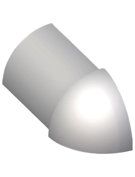 alfer® aluminium Außenecke, aus Aluminium, für Fließenmaß 8 mm