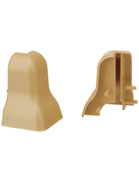 FN NEUHOFER HOLZ Außenecke »FU18H«, (2 Stk.) aus Kunststoff, für Sockelleisten
