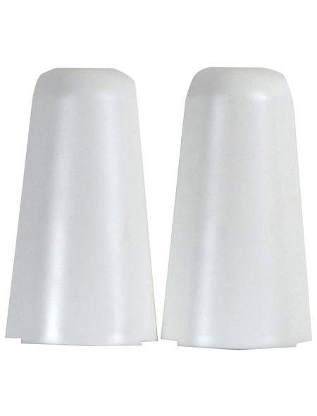FN NEUHOFER HOLZ Außenecken »K0210L«, (2 Stk.) aus Polyvinylchlorid (PVC), für Sockelleisten