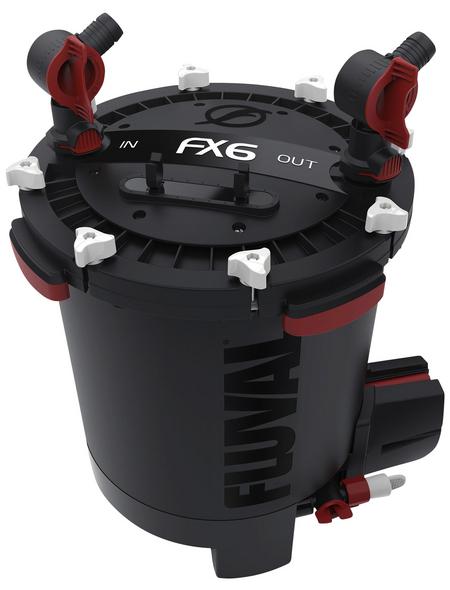 FLUVAL Außenfilter »FX6«, BxHxT: 40  x 52,5  x 40  cm, schwarz/rot