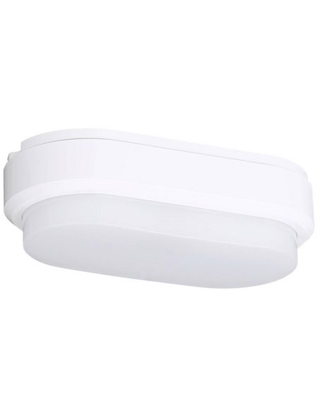 MÜLLER LICHT Außenleuchte »Bulkhead Oval Sensor«, 9 W, inkl. Bewegungsmelder, IP54, neutralweiß