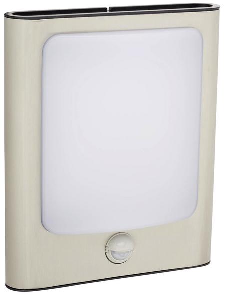 LUTEC Außenleuchte »FACE«, 13 W, inkl. Bewegungsmelder, IP44, warmweiß