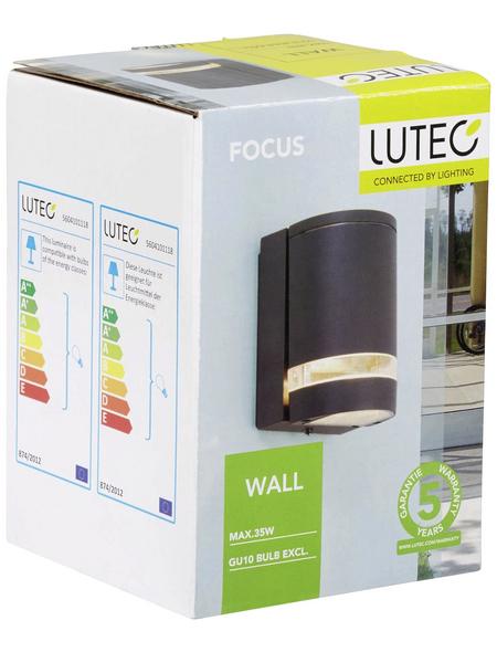 LUTEC Außenleuchte »FOCUS«, 35 W, Aluminiumdruckguss, IP44