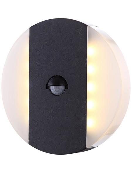 GLOBO LIGHTING Außenleuchte »MOONLIGHT«, 11,6 W, inkl. Bewegungsmelder