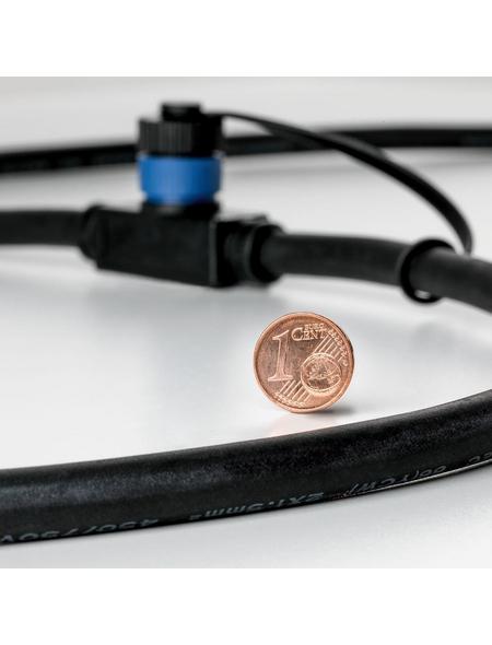 PAULMANN Außenleuchte »Plug & Shine«, 2,5 W, kunststoff/edelstahl, IP65