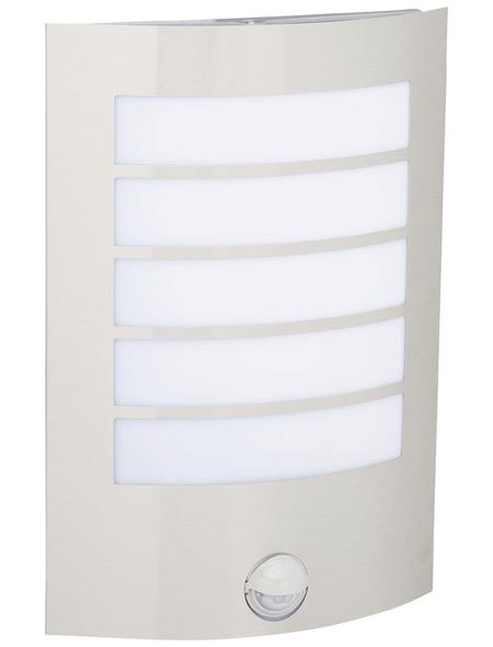 LUTEC Außenleuchte »SLIM«, 8 W, inkl. Bewegungsmelder, IP44, warmweiß
