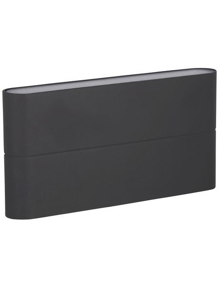 KONSTSMIDE Außenwandleuchte »Chieri«, 12 W, aluminium/acrylglas, IP54