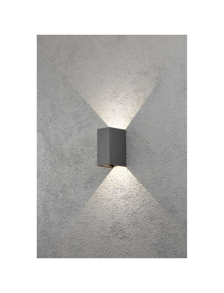 KONSTSMIDE Außenwandleuchte »Cremona«, 3 W, aluminium/acrylglas, IP54