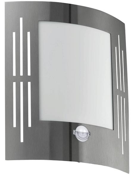 EGLO Außenwandleuchte mit Sensor »CITY«, 1 W, inkl. Bewegungsmelder, IP44