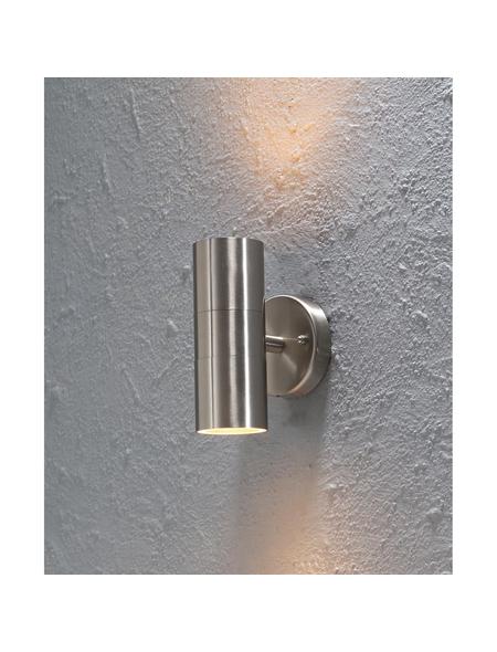 KONSTSMIDE Außenwandleuchte »Modena«, 35 W, edelstahl/glas, IP44