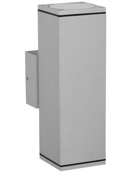 KONSTSMIDE Außenwandleuchte »Monza«, 35 W, aluminium/glas, IP44