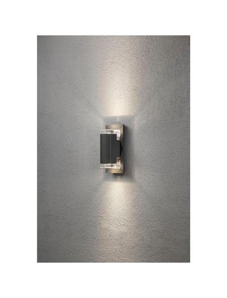 KONSTSMIDE Außenwandleuchte »Potenza«, 6 W, aluminium/acrylglas, IP54