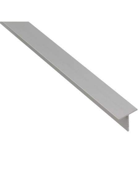 GAH ALBERTS BA-Profil T-Form Alu silber 2600 x 15 x 15 x 1,5 mm