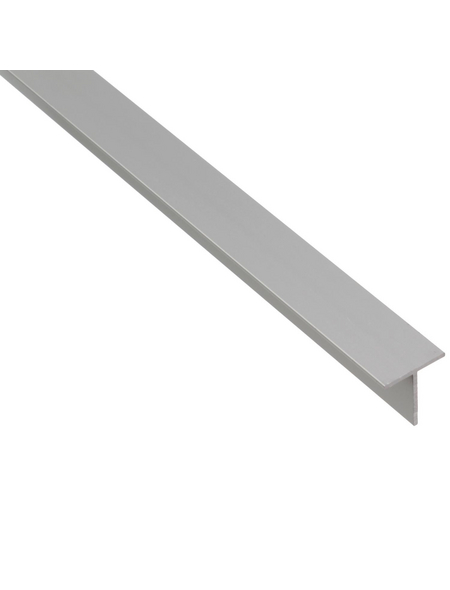 GAH ALBERTS BA-Profil T-Form Alu silber 2600 x 20 x 20 x 1,5 mm