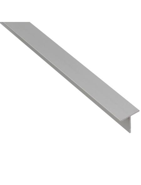 GAH ALBERTS BA-Profil T-Form Alu silber 2600 x 35 x 35 x 3 mm