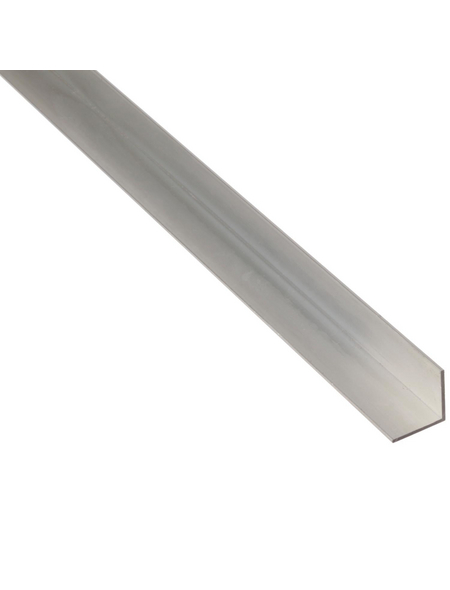 GAH ALBERTS BA-Profil Winkel Alu silber 1000 x 50 x 50 x 3 mm